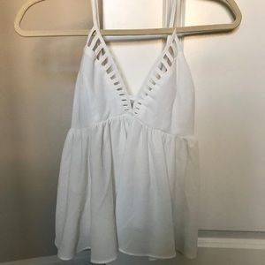 ANGL White Top Size Small